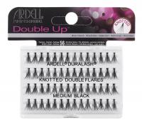 ARDELL - Double Up -  Increased Volume Eyelashes - KNOTTED DOUBLE FLARES - MEDIUM BLACK - KNOTTED DOUBLE FLARES - MEDIUM BLACK