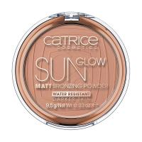 Catrice - Sun Glow - Matt Bronzing Powder - Puder brązujący - 020 - DEEP BRONZE - 020 - DEEP BRONZE