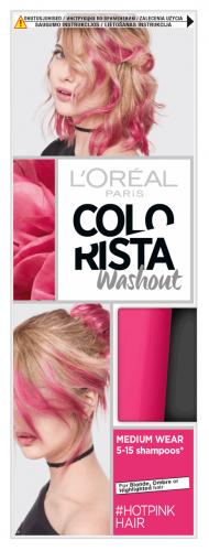 L'Oréal - COLORISTA Washout - #HOTPINKHAIR - Zmywalna koloryzacja - INTENSYWNY RÓŻOWY