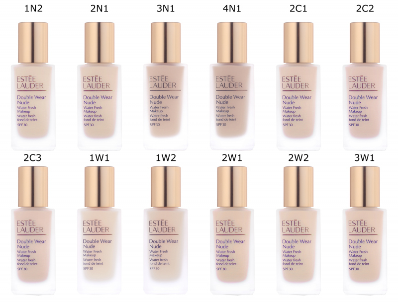 Est e lauder double wear nude water fresh makeup for Fresh naked pics