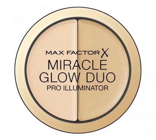 Max Factor - MIRACLE GLOW DUO - PRO ILLUMINATOR - Kremowy rozświetlacz i korektor