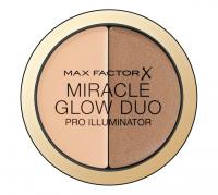Max Factor - MIRACLE GLOW DUO - PRO ILLUMINATOR - Kremowy rozświetlacz i korektor  - 20 MEDIUM - 20 MEDIUM