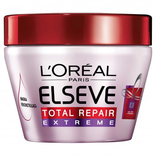 L'Oréal - ELSEVE - Total Repair - Extreme - Rekonstruująca maska do włosów