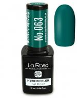 La Rosa - HYBRID COLOR - GEL POLISH - Lakier hybrydowy - 063 - 063