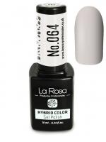 La Rosa - HYBRID COLOR - GEL POLISH - Lakier hybrydowy - 064 - 064