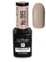 La Rosa - HYBRID COLOR - GEL POLISH - Lakier hybrydowy - 065 - 065