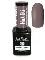 La Rosa - HYBRID COLOR - GEL POLISH - Lakier hybrydowy - 066 - 066