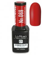 La Rosa - HYBRID COLOR - GEL POLISH - Lakier hybrydowy - 069 - 069