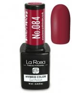 La Rosa - HYBRID COLOR - GEL POLISH - Lakier hybrydowy - 084 - 084