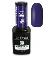 La Rosa - HYBRID COLOR - GEL POLISH - Lakier hybrydowy - 091 - 091