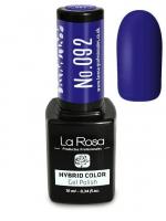La Rosa - HYBRID COLOR - GEL POLISH - Lakier hybrydowy - 092 - 092