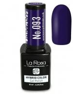 La Rosa - HYBRID COLOR - GEL POLISH - Lakier hybrydowy - 093 - 093