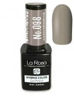 La Rosa - HYBRID COLOR - GEL POLISH - Lakier hybrydowy - 098 - 098