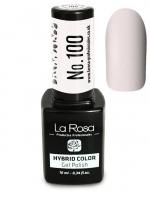 La Rosa - HYBRID COLOR - GEL POLISH - Lakier hybrydowy - 100 - 100