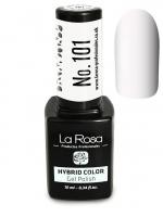 La Rosa - HYBRID COLOR - GEL POLISH - Lakier hybrydowy - 101 - 101