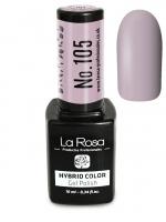 La Rosa - HYBRID COLOR - GEL POLISH - Lakier hybrydowy - 105 - 105