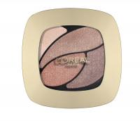 L'Oréal - COLOR RICHE LES OMBRES - Zestaw 4 cieni do powiek - E2 - NUDE LINGERIE - E2 - NUDE LINGERIE