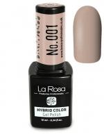 La Rosa - HYBRID COLOR - GEL POLISH - Lakier hybrydowy - 001 - 001