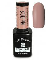 La Rosa - HYBRID COLOR - GEL POLISH - 002 - 002