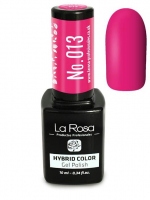 La Rosa - HYBRID COLOR - GEL POLISH - Lakier hybrydowy - 013 - 013