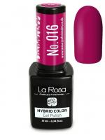 La Rosa - HYBRID COLOR - GEL POLISH - Lakier hybrydowy - 016 - 016
