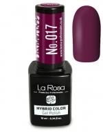 La Rosa - HYBRID COLOR - GEL POLISH - Lakier hybrydowy - 017 - 017