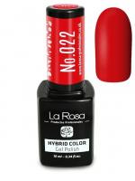 La Rosa - HYBRID COLOR - GEL POLISH - Lakier hybrydowy - 022 - 022
