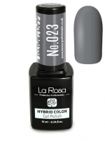 La Rosa - HYBRID COLOR - GEL POLISH - Lakier hybrydowy - 023 - 023