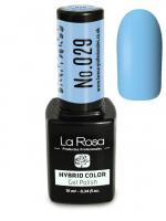 La Rosa - HYBRID COLOR - GEL POLISH - Lakier hybrydowy - 029 - 029