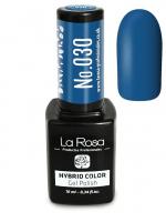 La Rosa - HYBRID COLOR - GEL POLISH - Lakier hybrydowy - 030 - 030