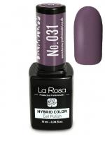 La Rosa - HYBRID COLOR - GEL POLISH - Lakier hybrydowy - 031 - 031