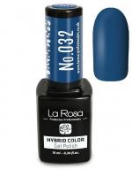 La Rosa - HYBRID COLOR - GEL POLISH - Lakier hybrydowy - 032 - 032