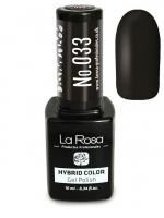 La Rosa - HYBRID COLOR - GEL POLISH - Lakier hybrydowy - 033 - 033