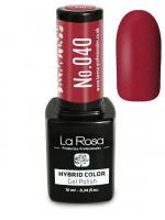 La Rosa - HYBRID COLOR - GEL POLISH - Lakier hybrydowy - 040 - 040