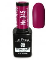 La Rosa - HYBRID COLOR - GEL POLISH - Lakier hybrydowy - 045 - 045