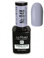 La Rosa - HYBRID COLOR - GEL POLISH - Lakier hybrydowy - 048 - 048