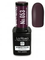 La Rosa - HYBRID COLOR - GEL POLISH - Lakier hybrydowy - 053 - 053