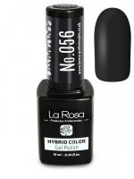 La Rosa - HYBRID COLOR - GEL POLISH - Lakier hybrydowy - 056 - 056