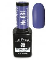 La Rosa - HYBRID COLOR - GEL POLISH - Lakier hybrydowy - 061 - 061
