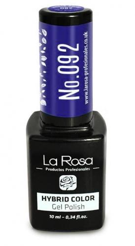 La Rosa - HYBRID COLOR - GEL POLISH - Lakier hybrydowy