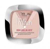 L'Oréal - True Match - HIGHLIGHT - Powder Glow Illuminator - Błush&Highlight - Rozświetlacz i róż do twarzy