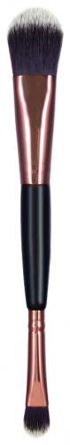 Inter-Vion - Makeup Passion - FOUNDATION NO. 964 - Podwójny pędzel do podkładu i korektora