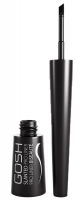 Gosh - SLANTED PRO LINER - Waterproof Liquid Eyeliner - 001 Intense Black
