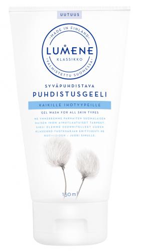 Lumene - KLASIKKO - Gel Wash For All Skin Types - Głęboko oczyszczający żel do mycia twarzy