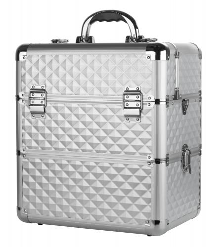 Cosmetic case - Silver Diamond 3D - NS038