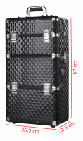 Cosmetic case - Black Diamond 3D - TC08