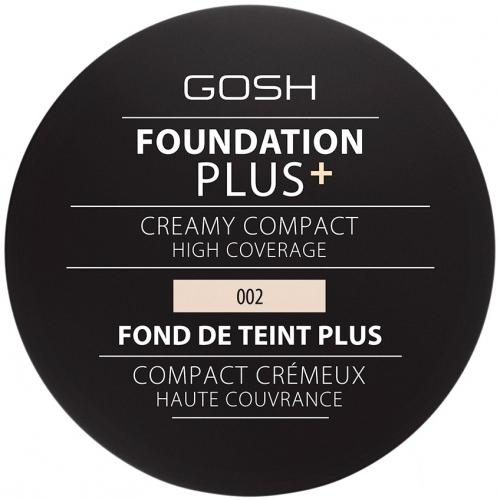 Gosh - FOUNDATION PLUS+ - CREAMY COMPACT - Kremowy podkład w kompakcie