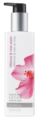 Kinetics - Hand & Body Lotion - Nourishing Hand&Body Lotion - Hibiscus & Rose Water - 250ml