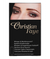 Christian - Eyelash & Eyebrow Dye - BLACK - BLACK