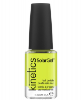 Kinetics - SOLAR GEL NAIL POLISH - Lakier do paznokci - System Solarny - 198 YELLOW SHOCK - 198 YELLOW SHOCK